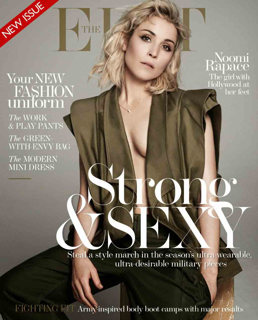 Noomi On The Cover Of The Latest Edition Of 'The Edit' – Gallery