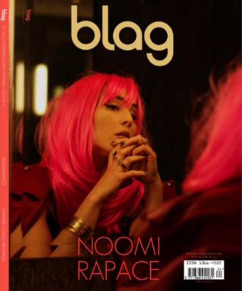 Blag Magazine Volume 3 Number 5 Nomi Rapace Cover